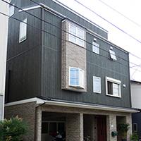 設計事務所とコラボ 都市型ボックスタイプのお家